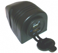 USB POWER SOCKET - TWIN USB SOCKET- SURFACE MOUNT<br>ALT/USB-194TENT-28